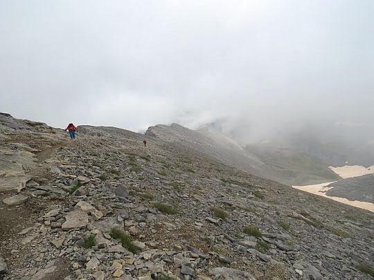 Podejście na szczyt Skala.