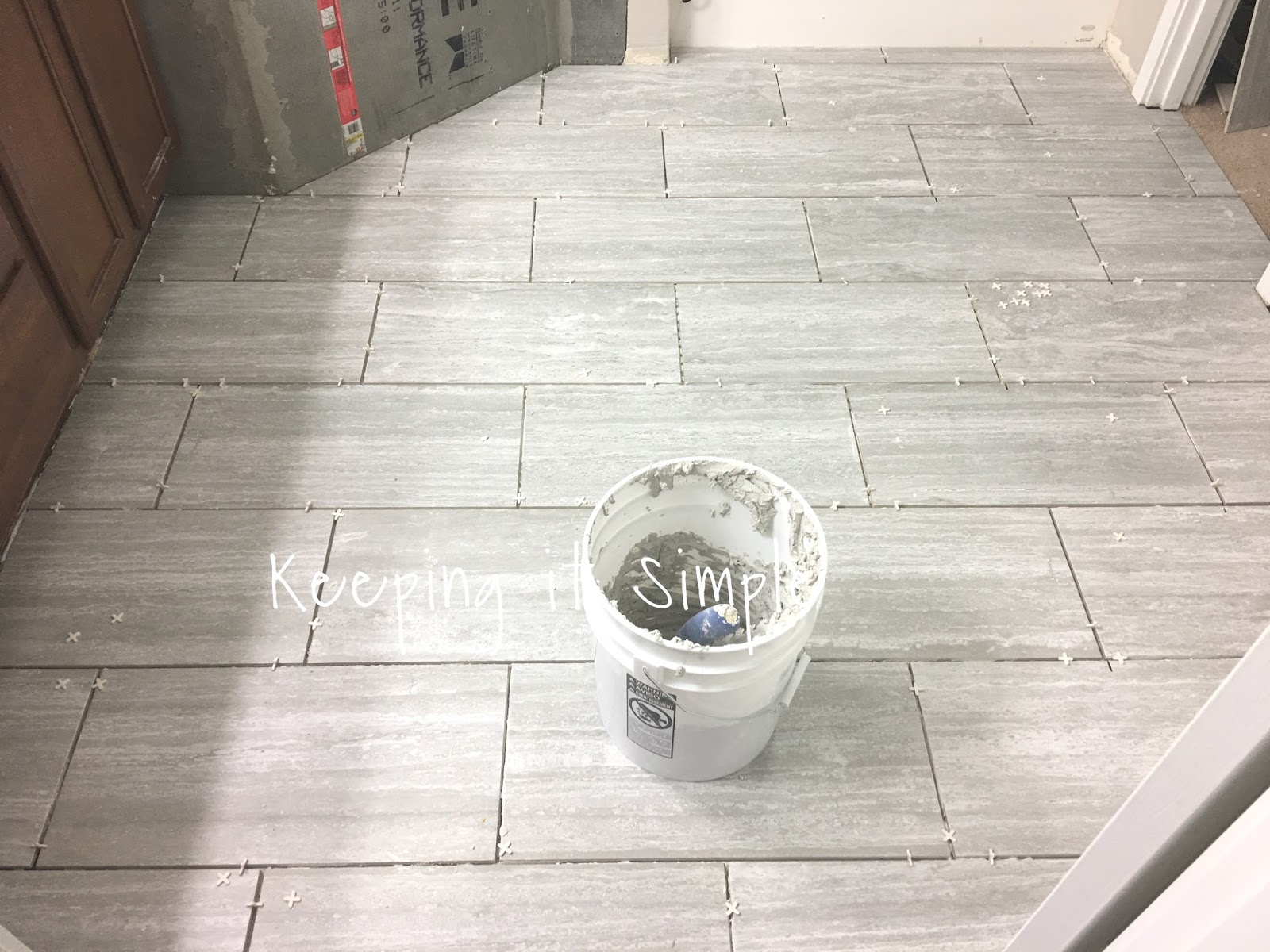 Tips On How To Install Tile Flooring In A Bathroom With Ridgemont - Installing tile floor in bathroom
