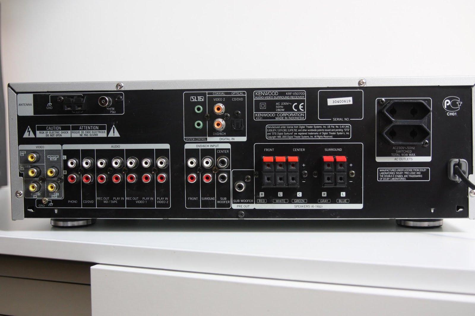 kenwood krf v5070d av surround receiver audiobaza. Black Bedroom Furniture Sets. Home Design Ideas