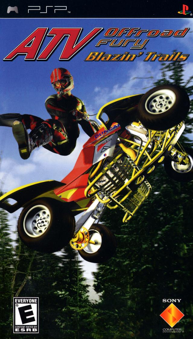 ATV Offroad Fury - Blazin Trails - PSP - ISO Download