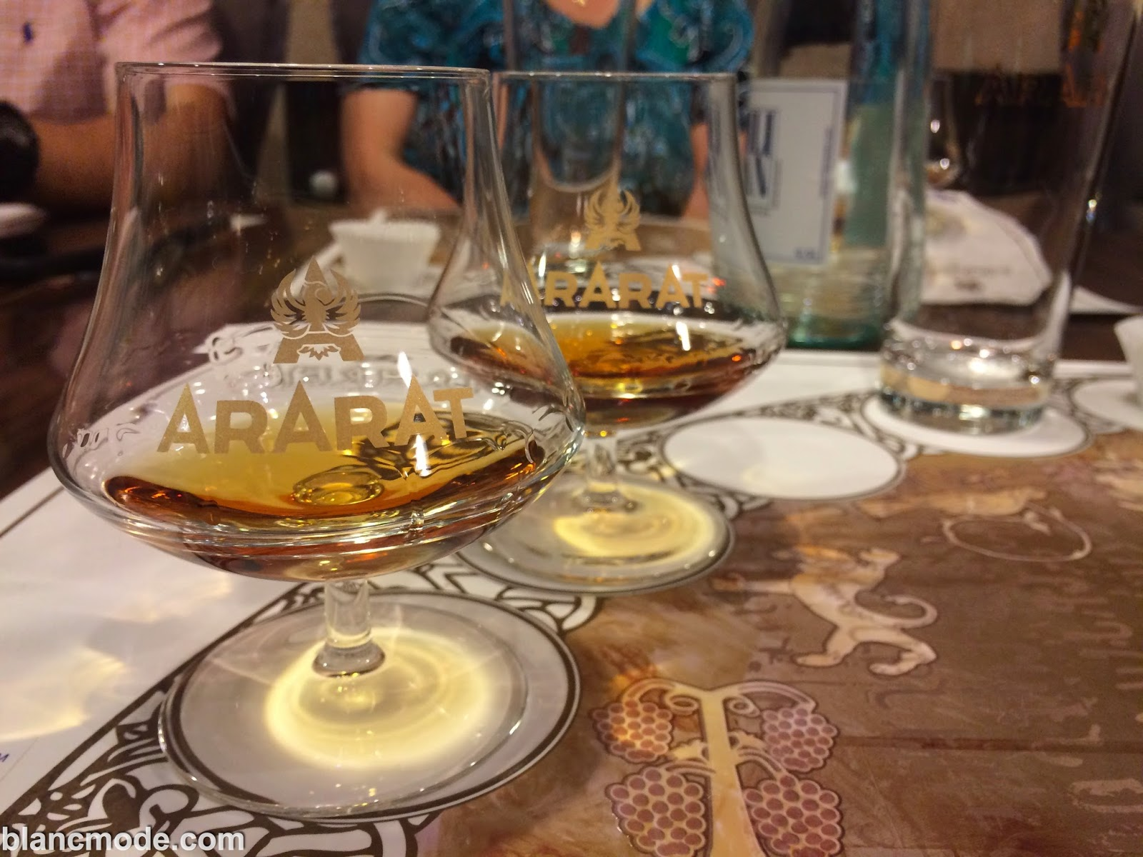 brandy tasting at the ararat factory