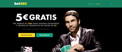 bet365 Poker 5 euros gratis nuevos jugadores