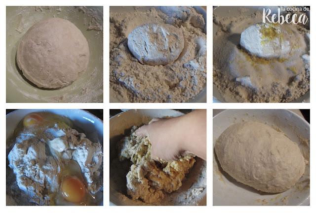 Receta de roscón de Reyes: masa