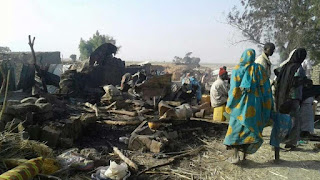 News: Boko Haram! Borno SEMA reveals how IDPs camp was bombed, confirms deaths