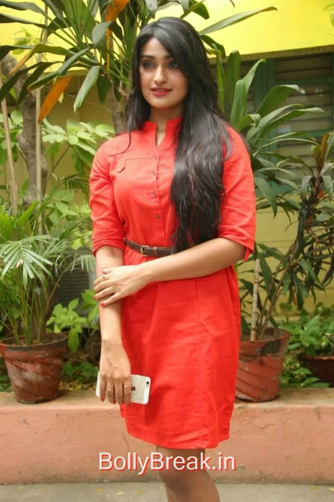 Jai Quehaeni Photos At CSK Movie Audio Launch, Actress Jai Quehaeni Hot Pics in red Dress