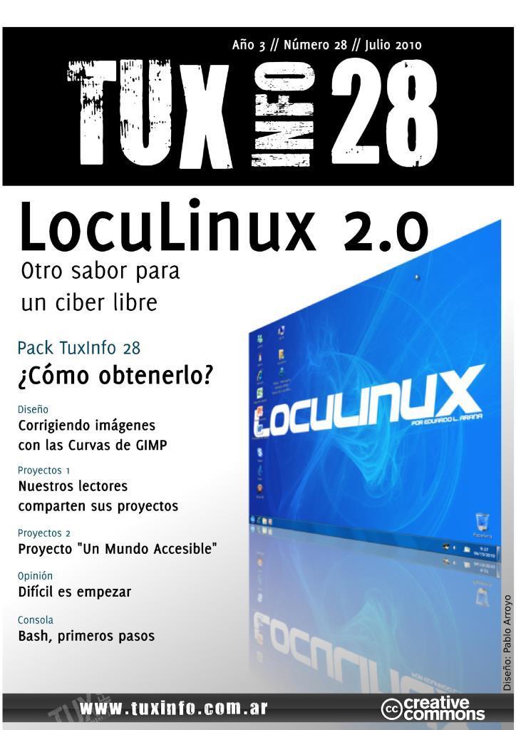 TuxInfo Nro. 28 – LocuLinux 2.0, otro sabor para un ciber libre