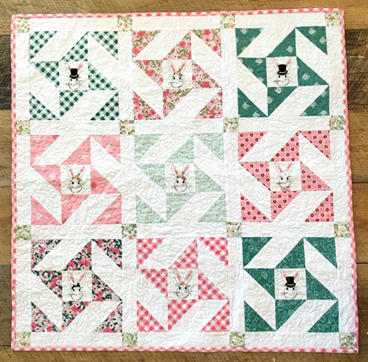 Snuggle Bunny Quilt Free Tutorial
