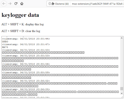 Cara Mudah Mencuri Password akun Orang lain dengan Keylogger