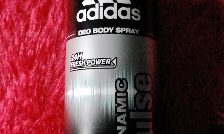 Bau Badan Hilang Dengan Adidas Deo Body Spray