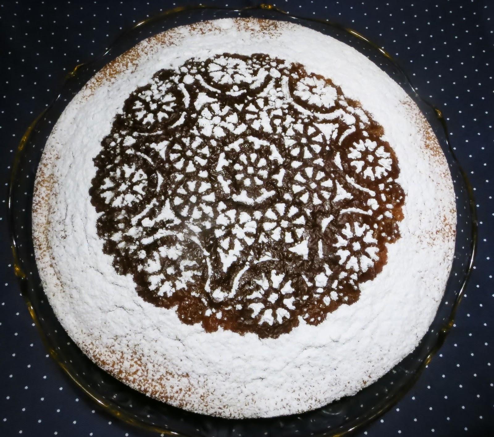 A tavola con mammazan torta della suocera for Decorazioni zucchero a velo