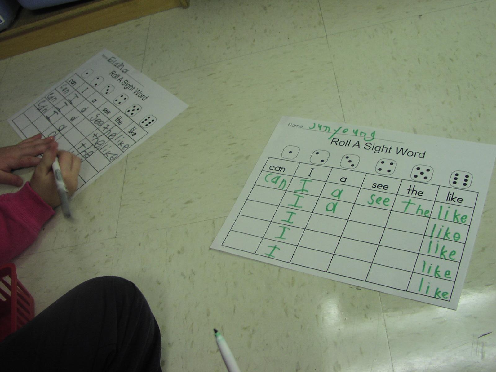 Keen On Kindergarten Alphabet Amp Sight Word Practice