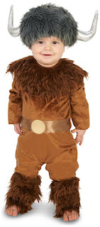 Boys Fearless Viking Infant Costume for Halloween