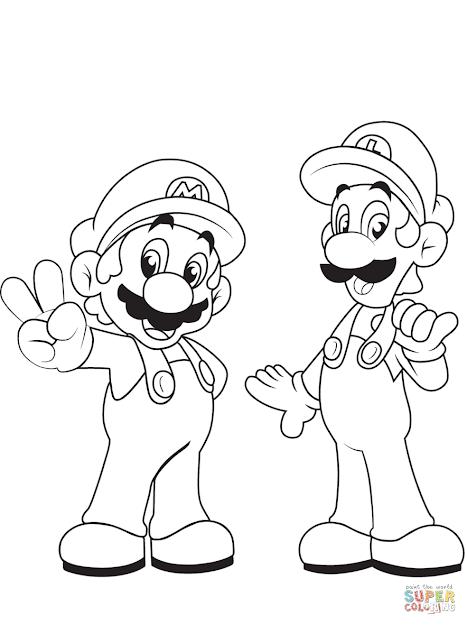 Luigi With Mario