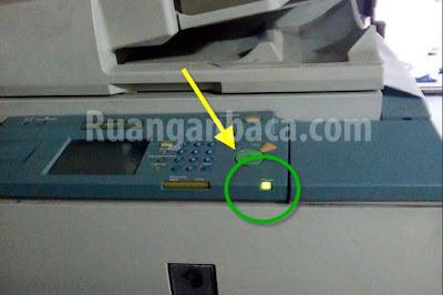 Cara Mengatasi Mesin Fotocopy mati Total Lampu Power Hidup Canon IR