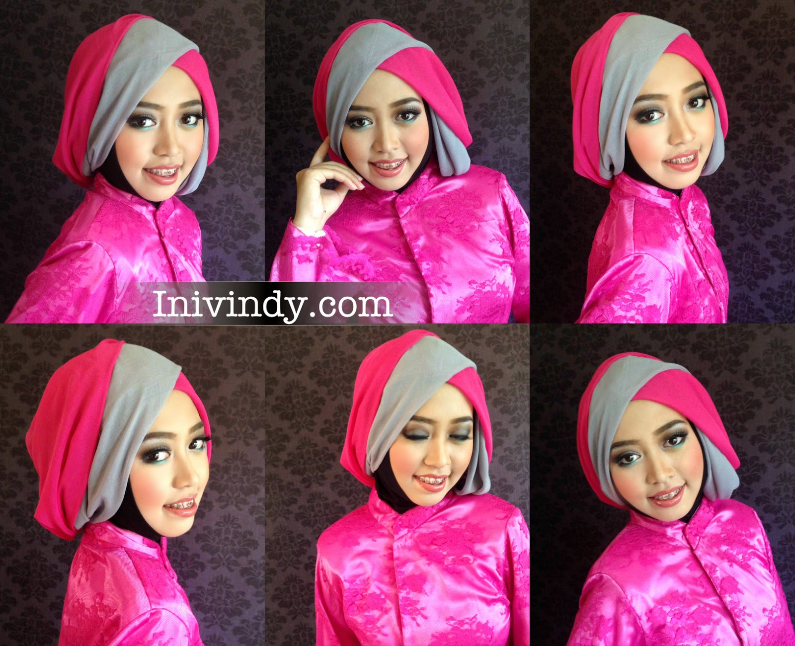 Tutorial Jilbab Layer 2 Warna Trend Hijab