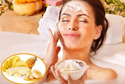 Healthy Food Apply On Skin Before Going To Bed