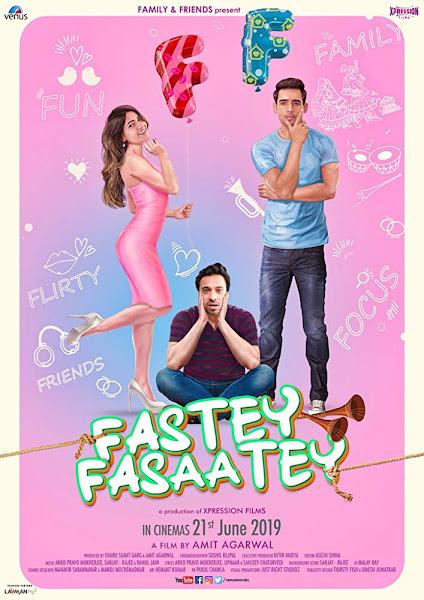 Poster of Fastey Fasaate (2019) Full Movie Hindi 720p HDRip ESubs Download