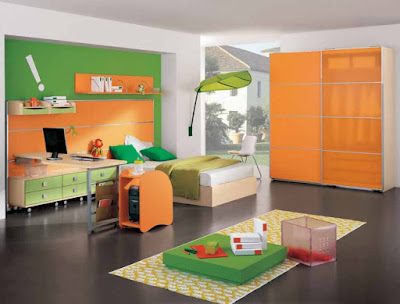 Desain Interior Rumah Minimalis Warna Cat Warna-Warni