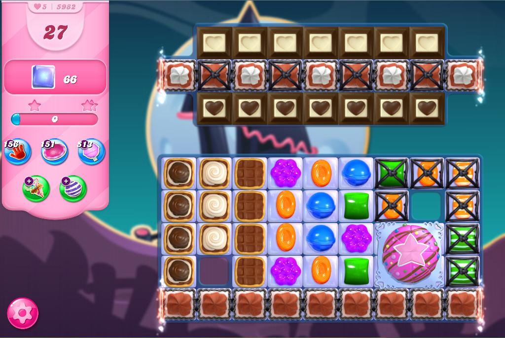 Candy Crush Saga level 5982