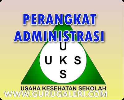 Perangkat Administrasi UKS Sekolah