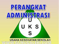 Contoh Perangkat Administrasi Usaha Kesehatan Sekolah ( UKS )