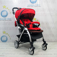 Kereta Bayi LightWeight CocoLatte CLQ6 Delly & Belly