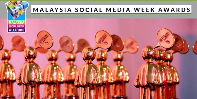 Malaysia Social Media Week Award - MSMW2016