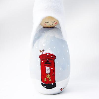 Christmas Post Cornish Pixie Elf