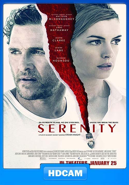 Serenity 2019 720p English HDCAM x264   480p 300MB   100MB HEVC Poster