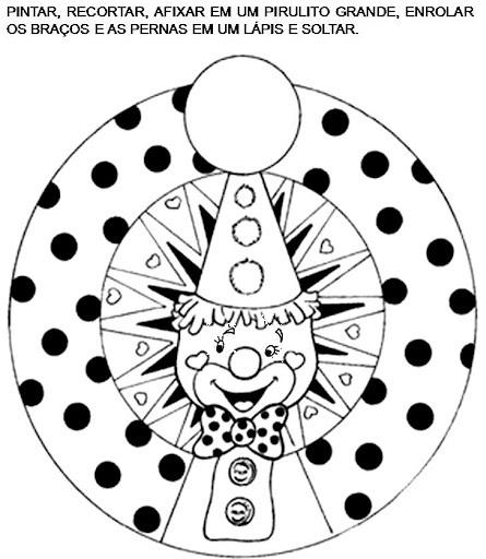 Resultado de imagem para palhaço romero britto para colorir