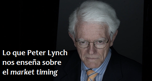 Lo que Peter Lynch nos enseña sobre el mejor momento para invertir