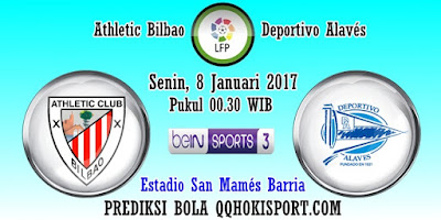 Prediksi Athletic Bilbao vs Deportivo Alaves – 8 Januari 2018