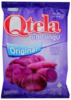 keripik qtela ubi ungu dari indofood
