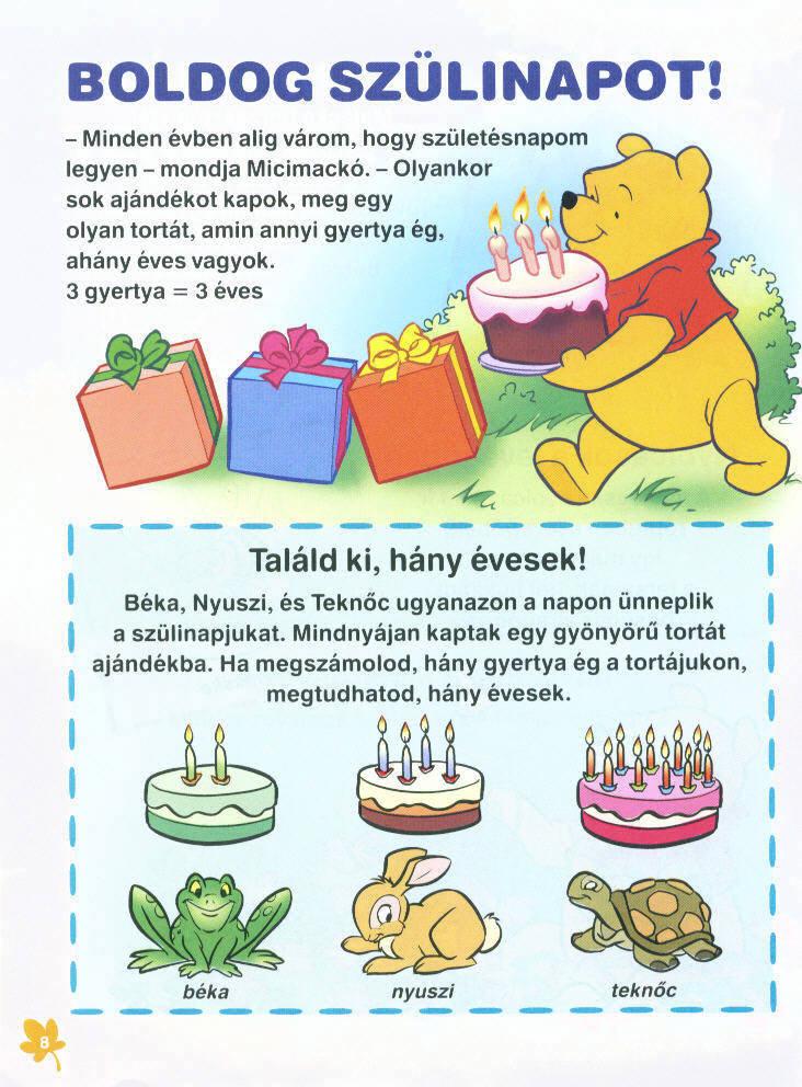 micimackó boldog születésnapot Boldogbaba: Mesekönyv   Micimackó (2 könyv) micimackó boldog születésnapot