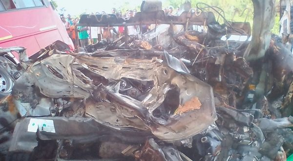 13 burnt to death in Wenchi road crash