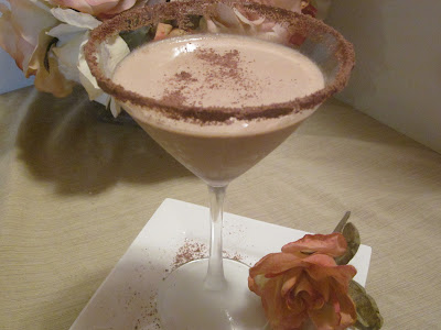 Creamy Dreamy Chocolate Martini