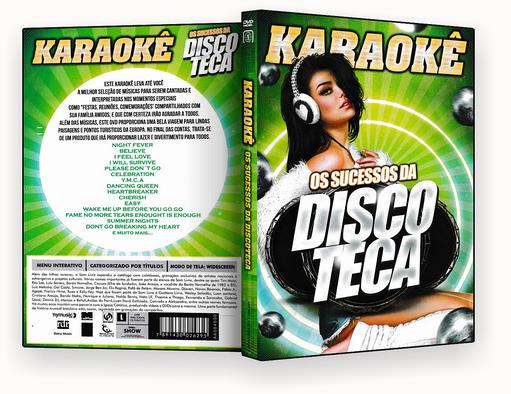 CAPA DVD – Karaokê Os Sucessos Da Discoteca – ISO