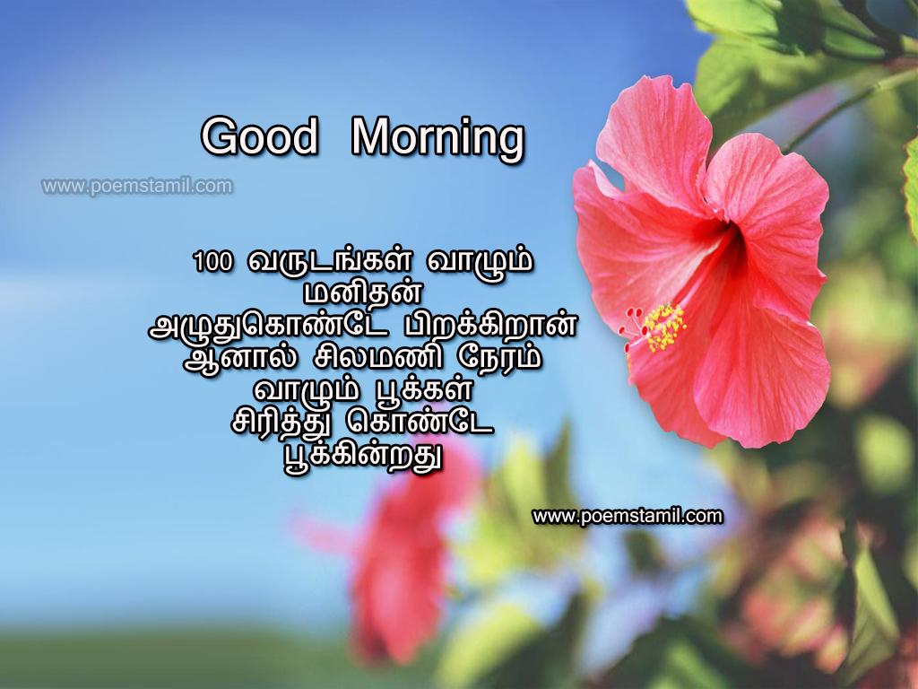 Good Morning Kavithai Good Morning Kavithai In Tamil