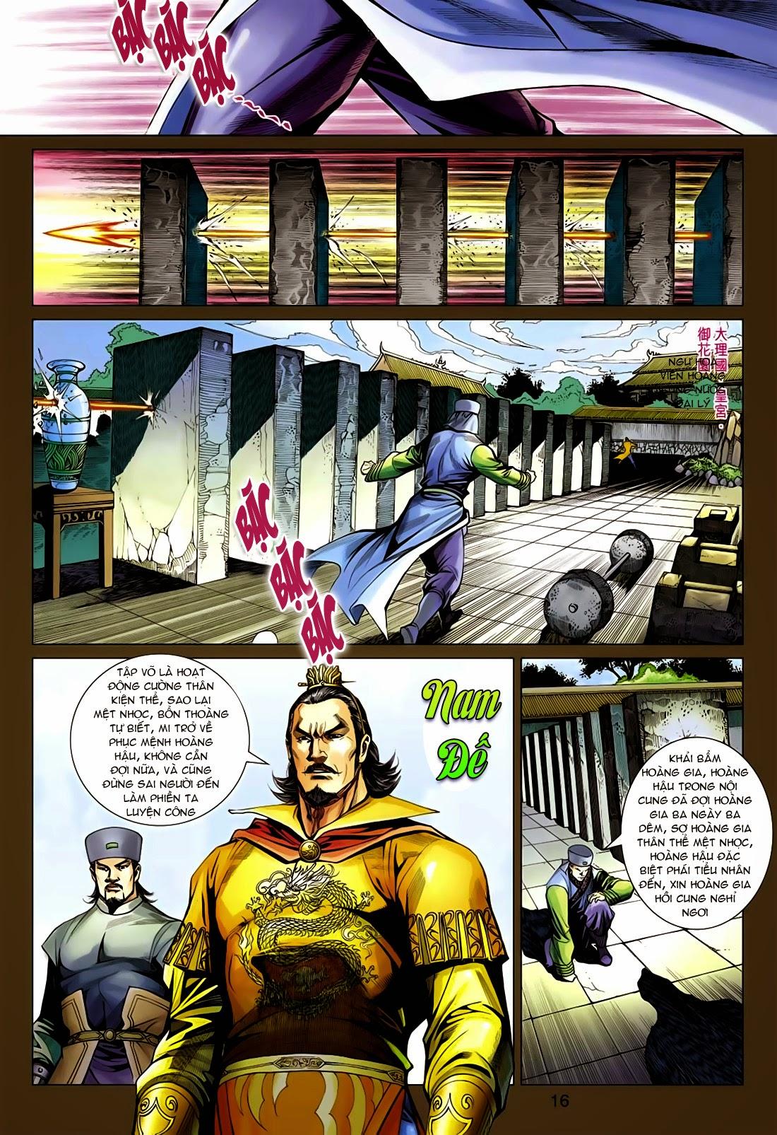 Anh Hùng Xạ Điêu anh hùng xạ đêu chap 75: hoàng thành cựu sự trang 16