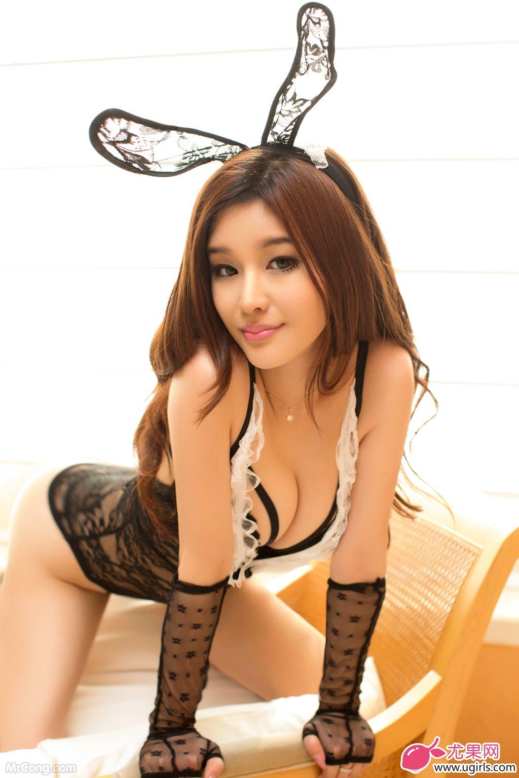 Image MrCong.com-UGIRLS-015-Chun-Xiao-Xi-017 in post Người đẹp Chun Xiao Xi (纯小希) siêu nóng bỏng trong bộ ảnh UGIRLS 015