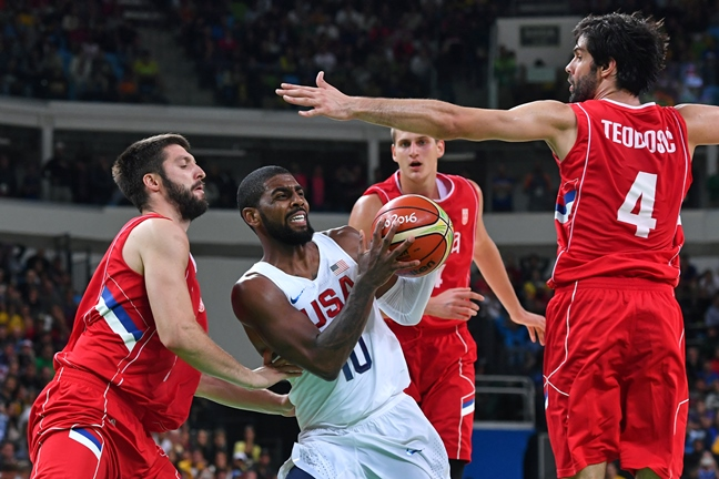 Rio Olympics 2016: Men's Basketball Updates and Results