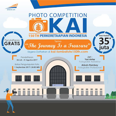 Lomba Foto KAI Dengan Tema The Journey is A Treasure