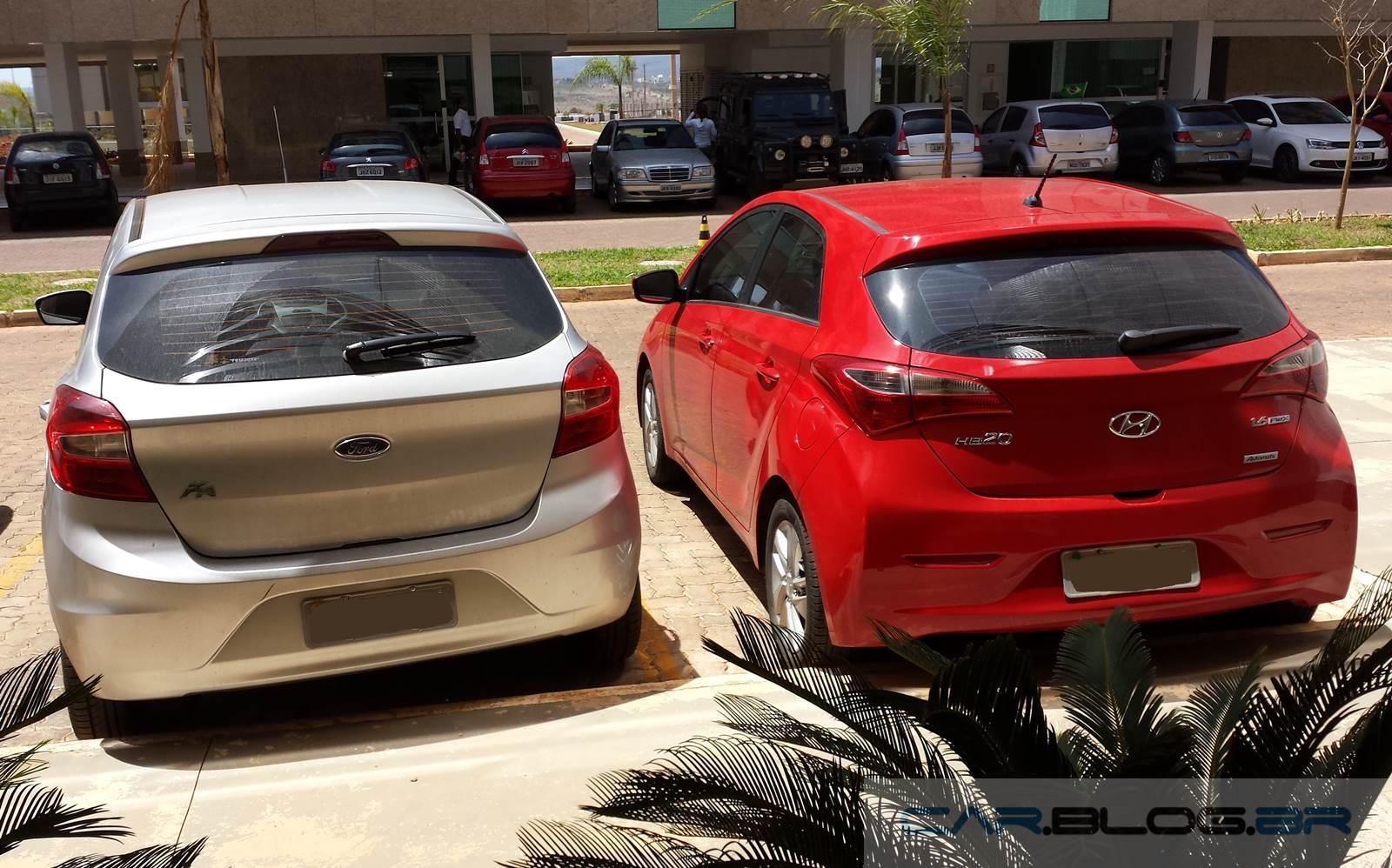 Novo Ford Ka X Hyundai Hb