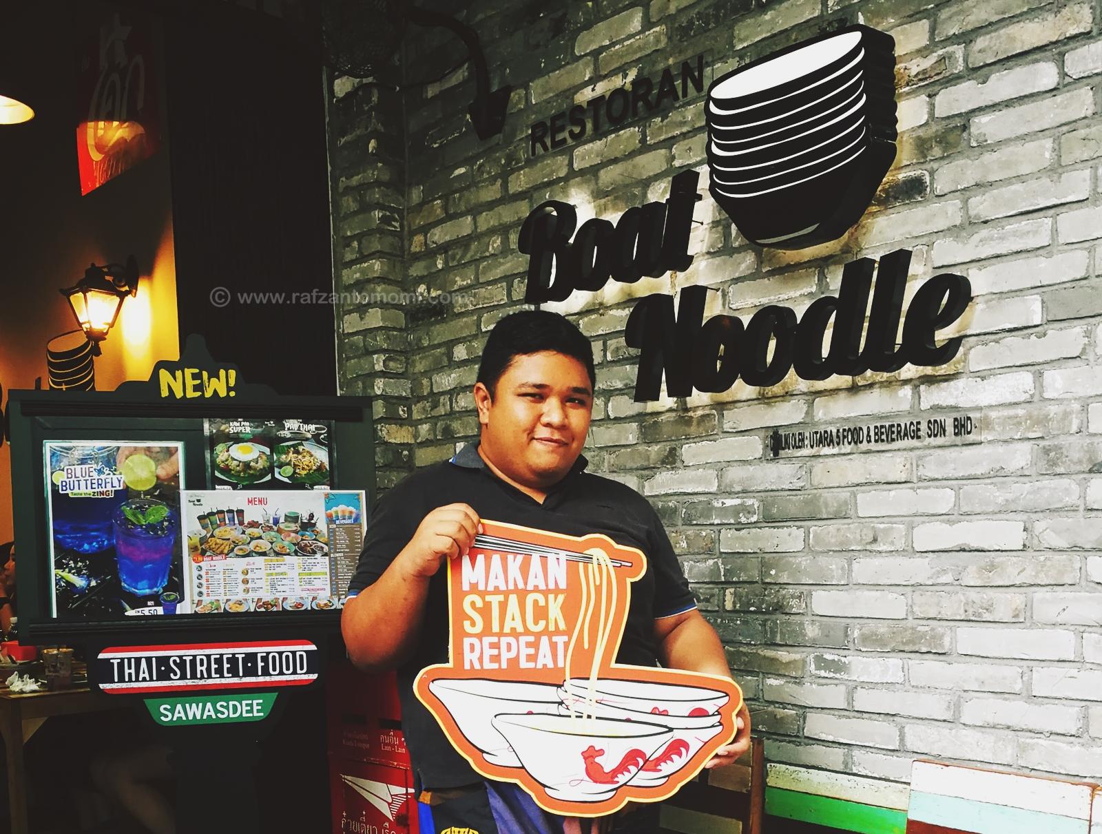 Boat Noodle Perkenalkan Menu Terhad Sehingga Penghujung Februari 2018 !