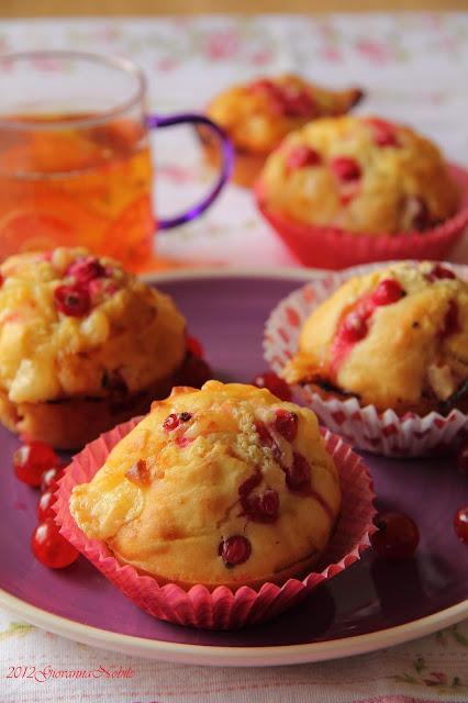 Muffin al ribes