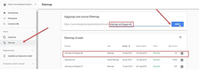 invio-sitemap-aggiuntive