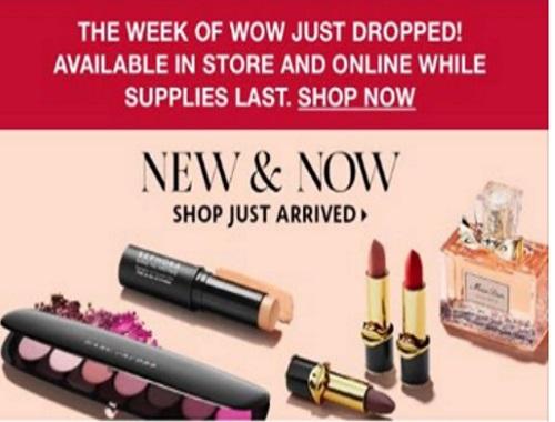Sephora Week of Wow 50% Off Anastasia Beverly Hills & Benefit Cosmetics