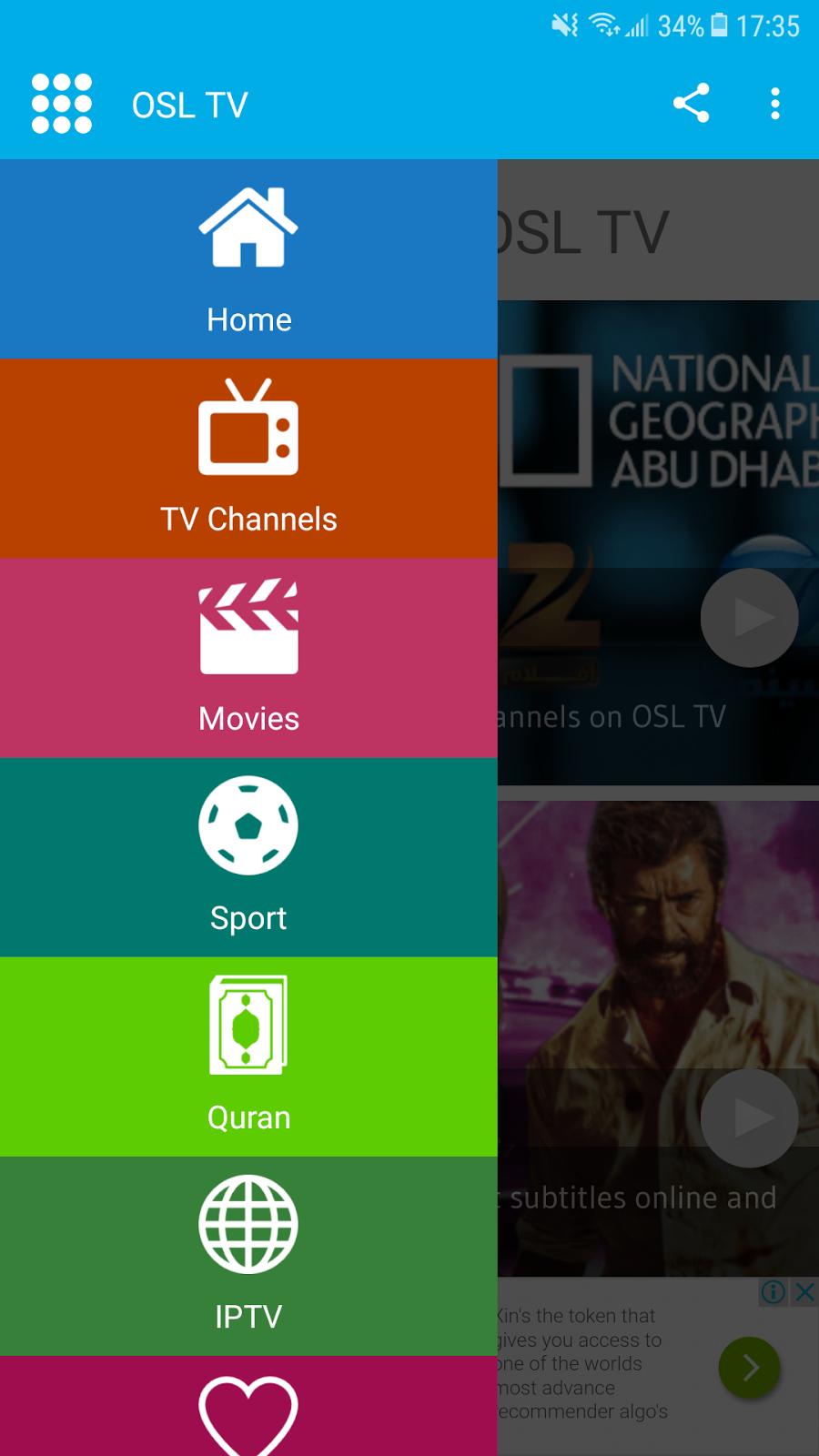 osl tv gratuit pour pc