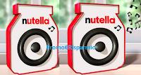 Logo Nutella Musica: vinci 5.040 Speaker brandizzati Nutella