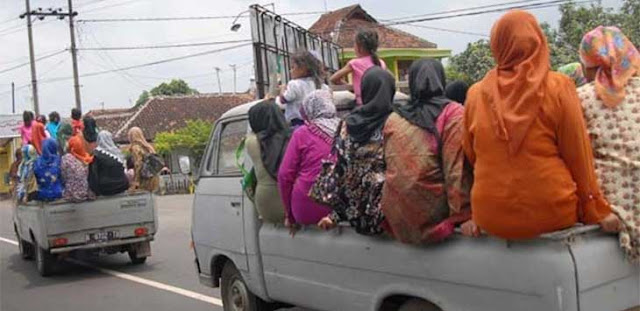 Waduh, Mobil Pikap Untuk Angkut Penumpang, Bisa Dipidana Penjara 1 Bulan